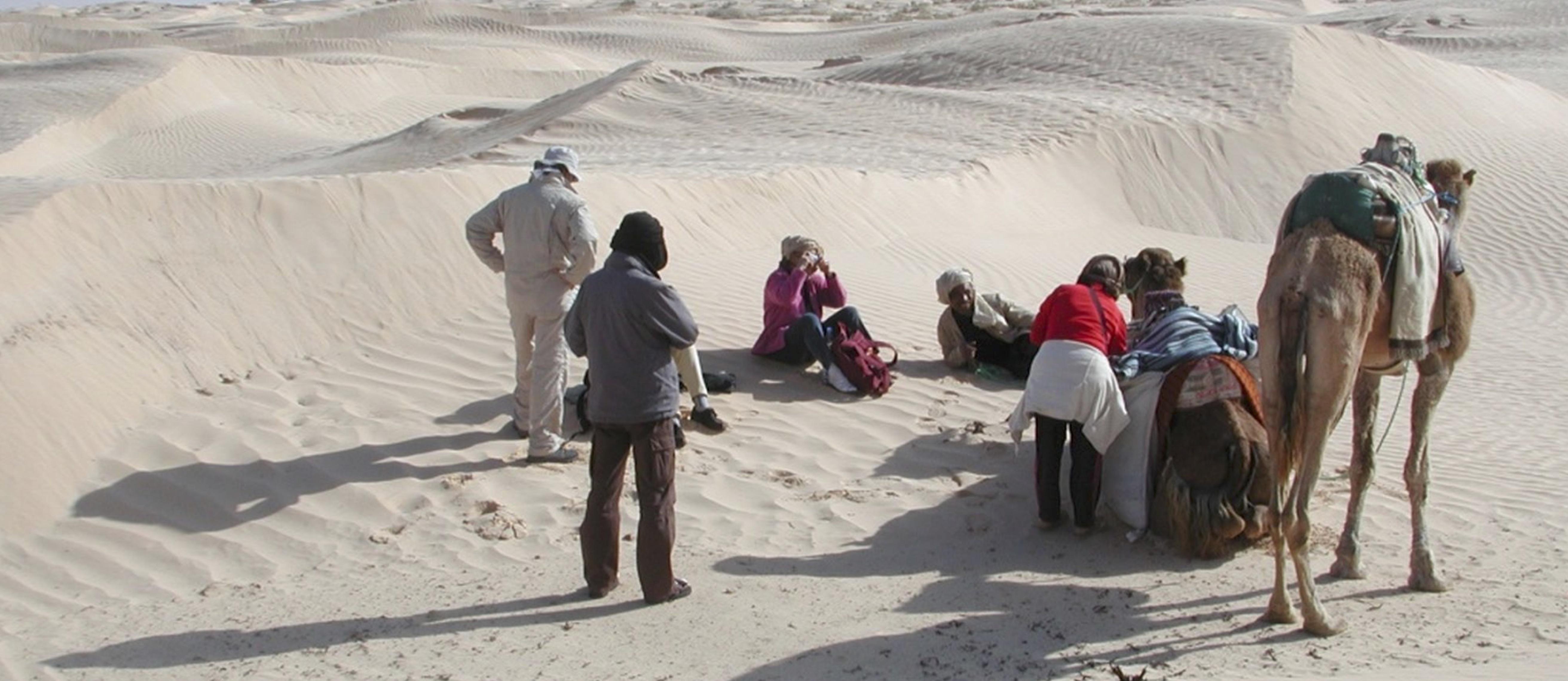 Jeûne et Randonnée dans lz Sahara